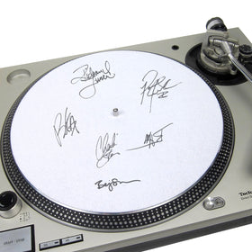 Autographed Felt Turntable Slipmat