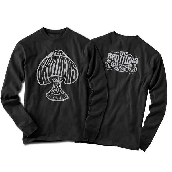 THE BROTHERS 50 Long Sleeve Mushroom Tee