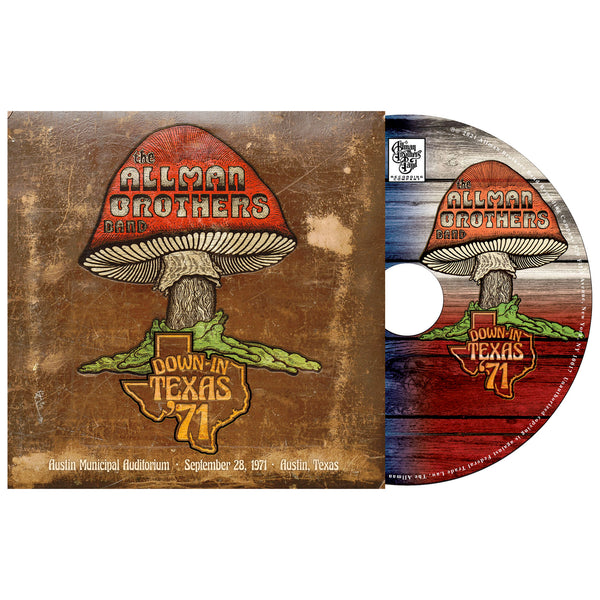 Allman Brothers Band Down In Texas 71 CD