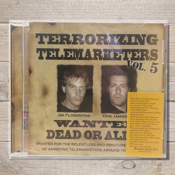Terrorizing Telemarketers Volume 5 CD