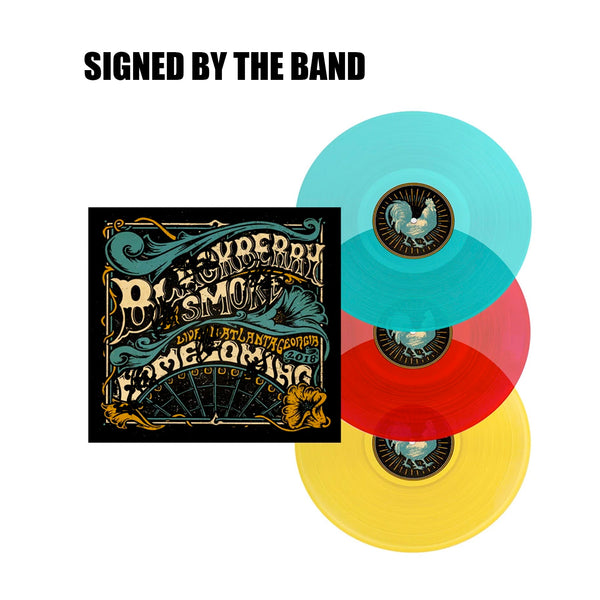 SIGNED HOMECOMING LIVE IN ATLANTA LP TRIPLE VINYL