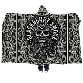 Hooded Premium Sherpa Beard Blanket