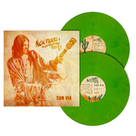 NICK PERRI & THE UNDERGROUND THIEVES SUN VIA limited edition Cactus Green vinyl LP