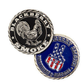 BLACKBERRY SMOKE OFFICIAL CHALLENGE COIN