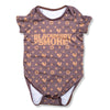 ALL OVER PRINT ONESIE (BROWN)
