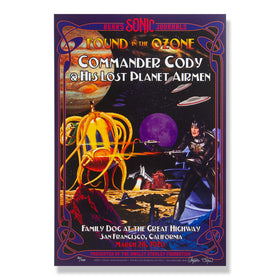 OSF POSTER COMMANDER CODY AND HIS LOST PLANET AIRMEN – Signed and numbered run of 100