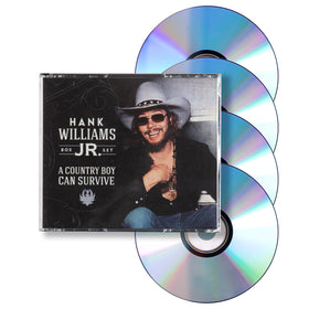 HANK WILLIAMS JR A Country Boy Can Survive Box Set (4CD)