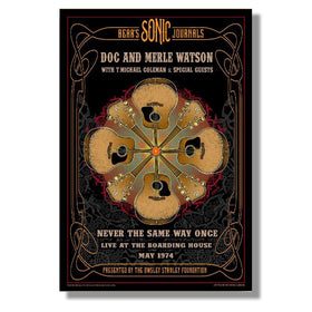 OSF Doc & Merle Watson Poster – Signed and numbered run of 200