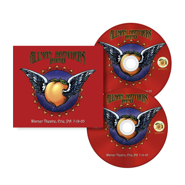 ALLMAN BROTHERS BAND JULY 19, 2005 IN ERIE, PENN Double CD