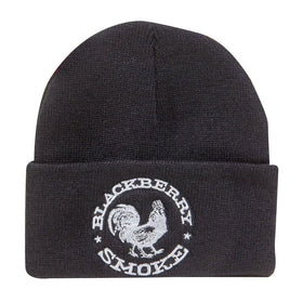 EMBROIDERED SILVER ROOSTER SKI HAT