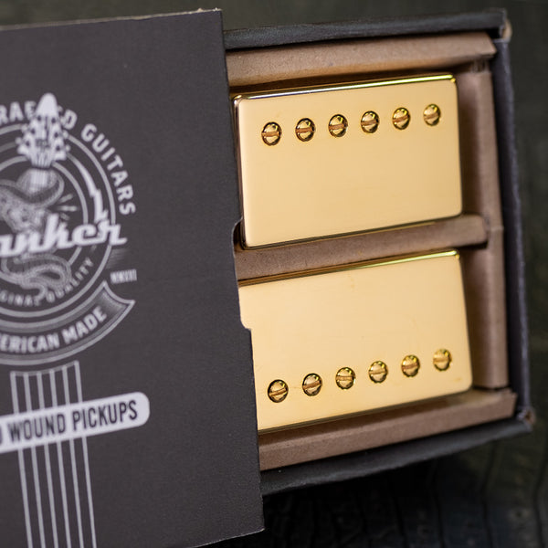 Banker Hand Wound Pickups - Gold