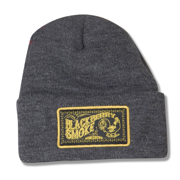 EMBROIDERED HOMEGROWN LOGO SKI HAT