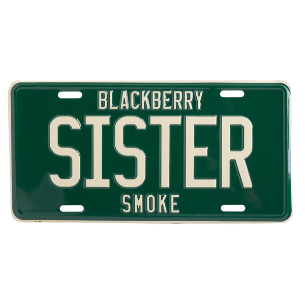 SISTER LICENSE PLATE