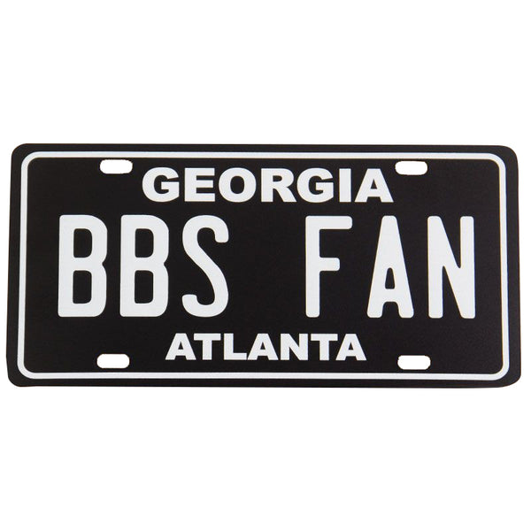 BBS FAN LICENSE PLATE