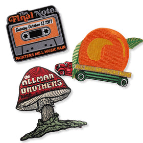 Allman Brothers Patch Set