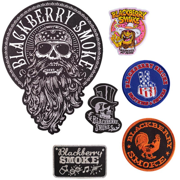 BLACKBERRY SMOKE PATCHED UP SET