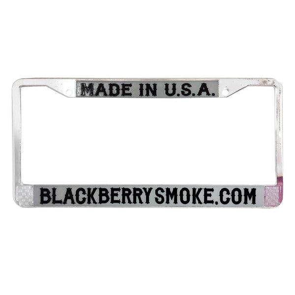 Chrome Metal Car License Plate Frame