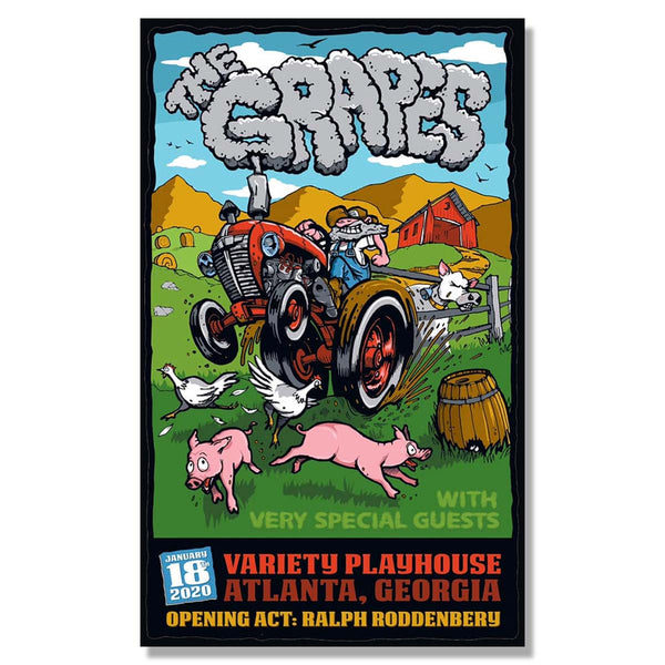 The Grapes Variety Playhouse 2020 Show Poster