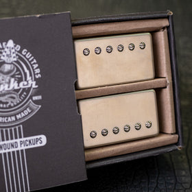 Banker Hand Wound Pickups - Raw Nickel