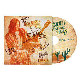 Nick Perri & The Underground Thieves  SUN VIA gatefold CD (Autographed)