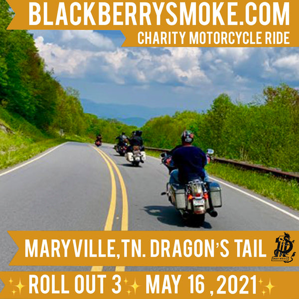 Roll Out Charity Ride 3 Event Ticket May 16th Single Rider