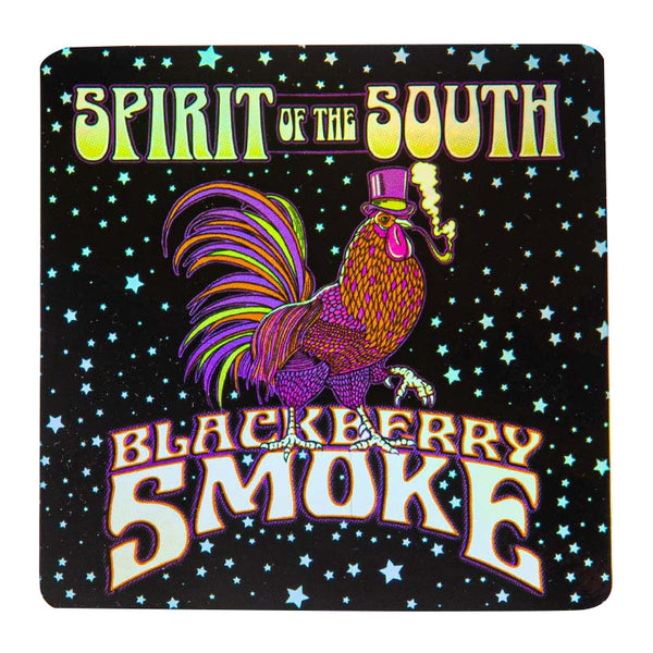 SPIRIT OF THE SOUTH METALIC STICKER