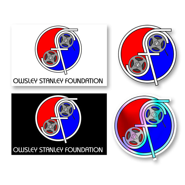 OSF Reel Your Face Weatherproof Stickers