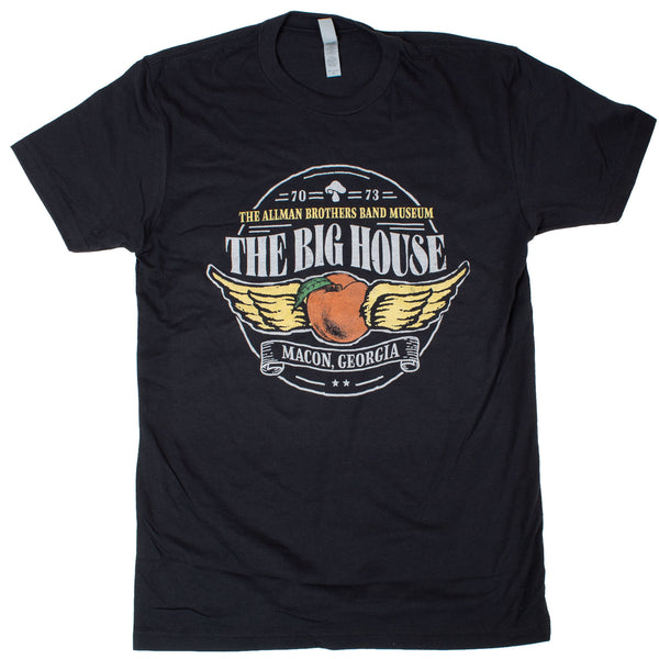 The Big House Museum Winged Peach Tee