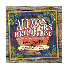 ALLMAN BROTHERS AMERICAN UNIVERSITY WASHINGTON, D.C. CD