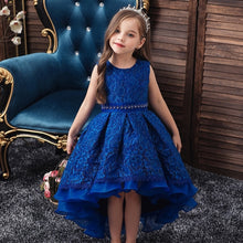Load image into Gallery viewer, Girls Pageant Communion Dresses Wedding Party Dress Girls school opening ceremony party dance performance show embroidery Dress