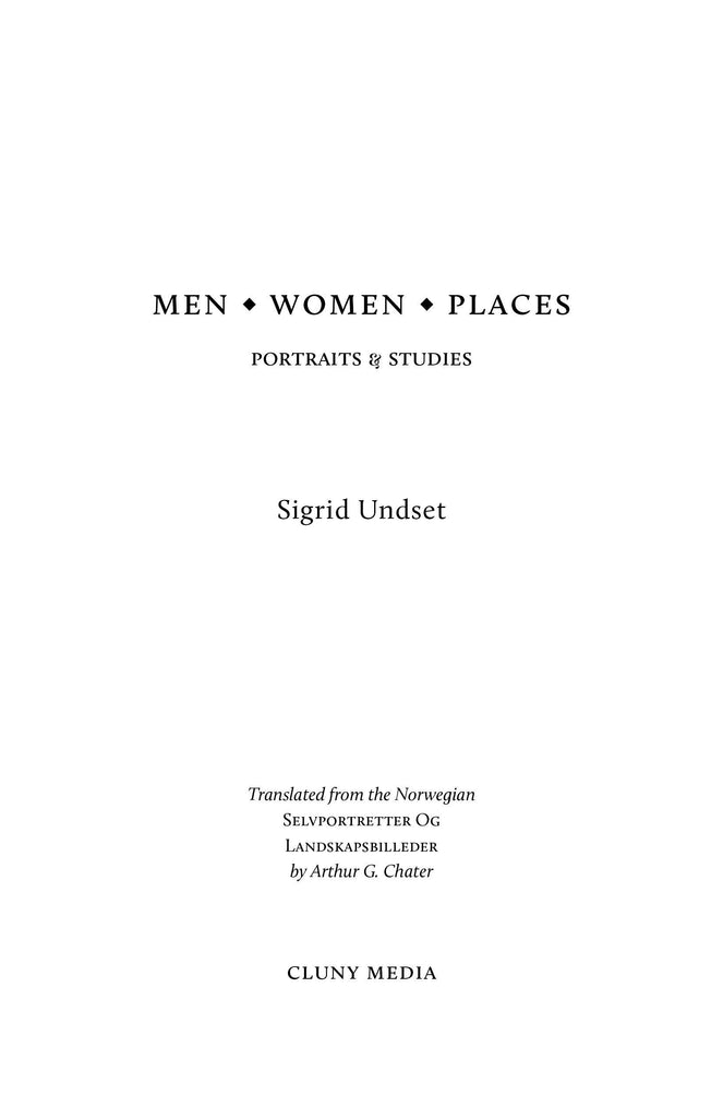 Men, Women, Places