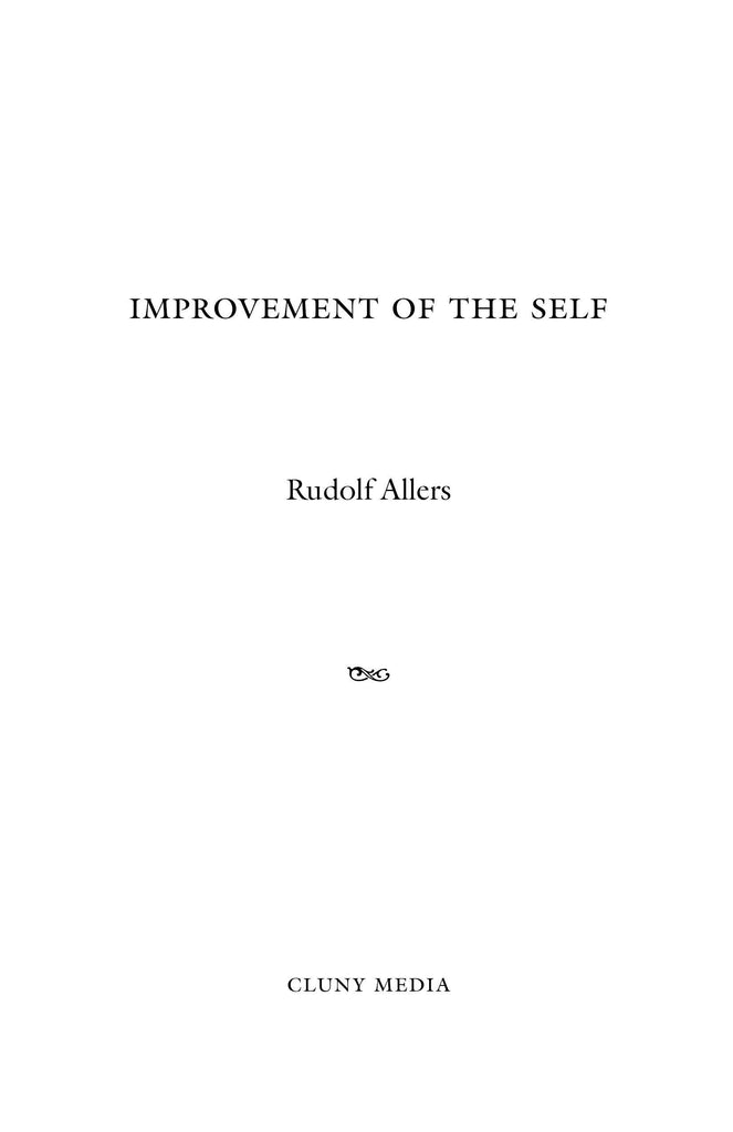 The Improvement of the Self