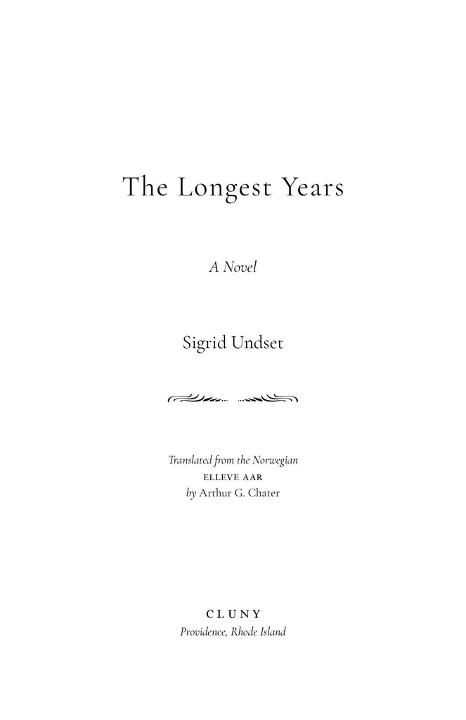The Longest Years - ClunyMedia