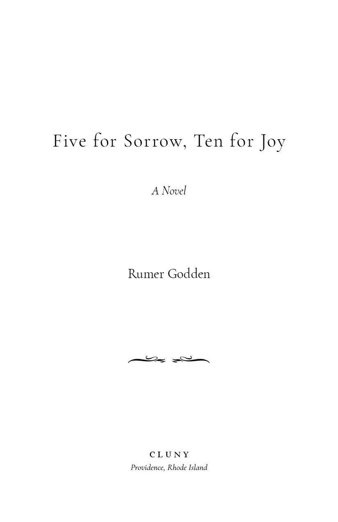 Five for Sorrow, Ten for Joy - ClunyMedia