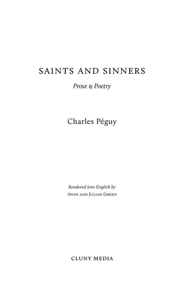 Saints and Sinners - ClunyMedia