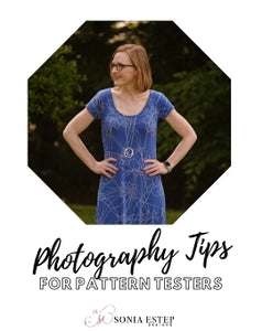 Photography Tips for Pattern Testers