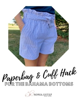 Bahama Bottoms Paperbag Waistband and Cuff Hack