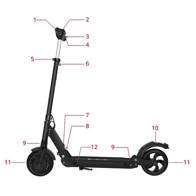 S1 Folding Electric Scooter