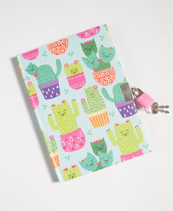 My little Journal - Cactus Kitties