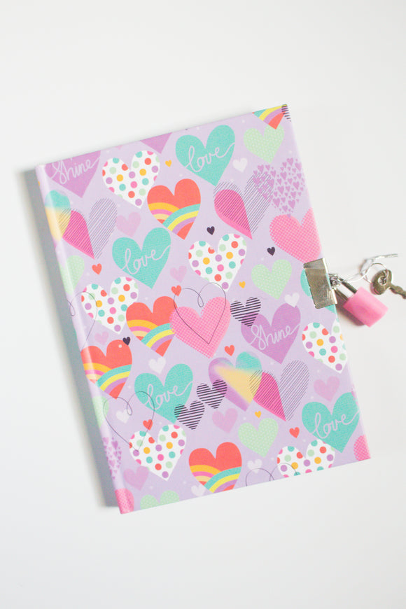 My little Journal - Hearts