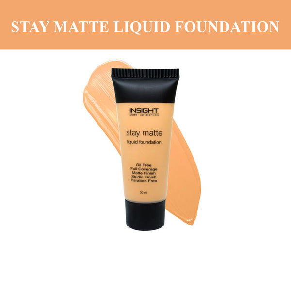 Insight Cosmetics Stay Matte Liquid Foundation 30 ml