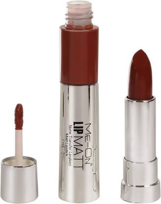 Me-on 2 in 1 Matte Lipstick (LIQUID & SOLID)