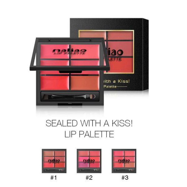 Maliao Sealed with a Kiss Lip Palette- 9 g