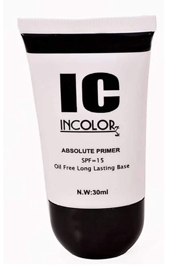 INCOLOR Absolute Oil Free Long Lasting Face Makeup Primer 30 Ml