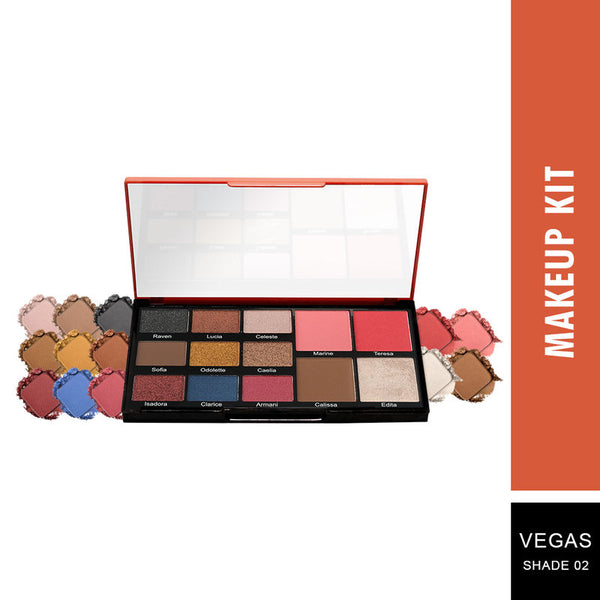 Swiss Beauty Face and Eye Make-up Palette
