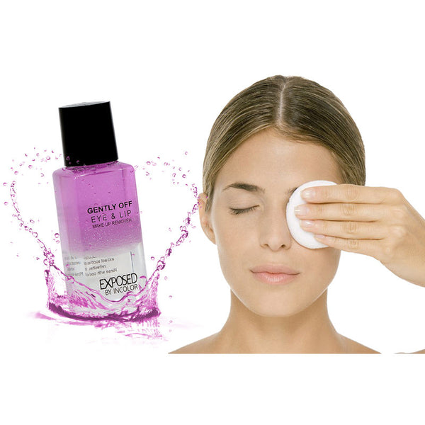 Incolor Exposed Gently off Eye & Lip Make Up Remover