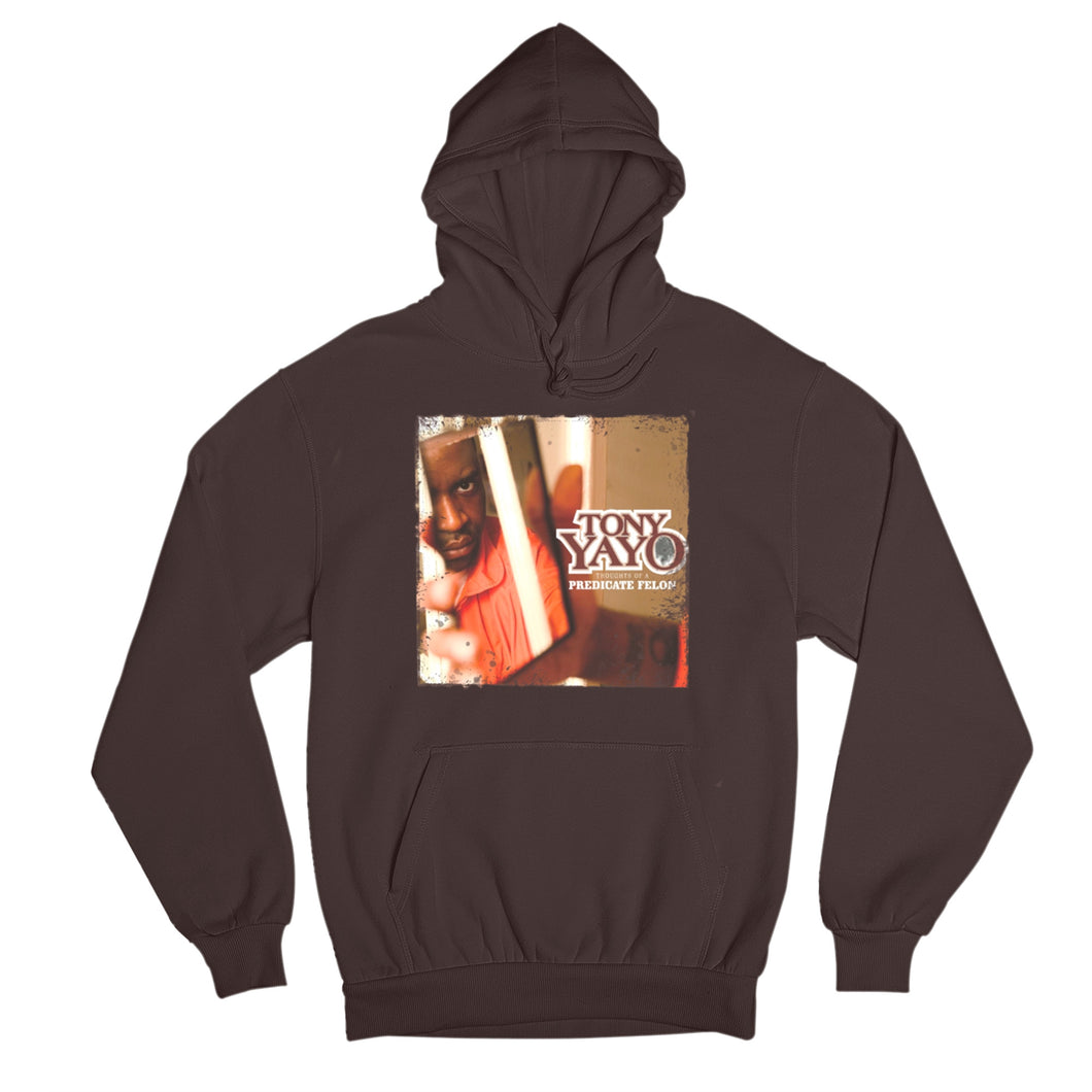 Thoughts of A Predicate Felon Hoodie - Tony Yayo Store
