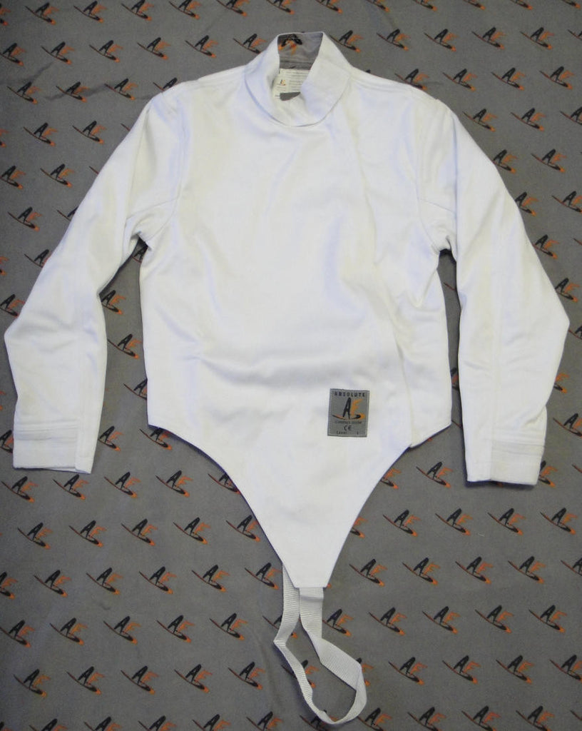 AFG 350N Fencing Jacket, Men/Boy, Front zip