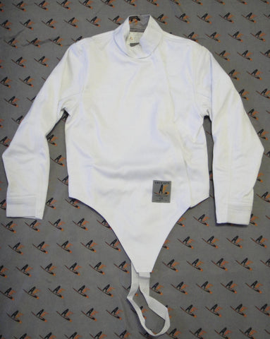 AFG 350N Fencing Jacket, Stretch: Men/Boy, Front zip