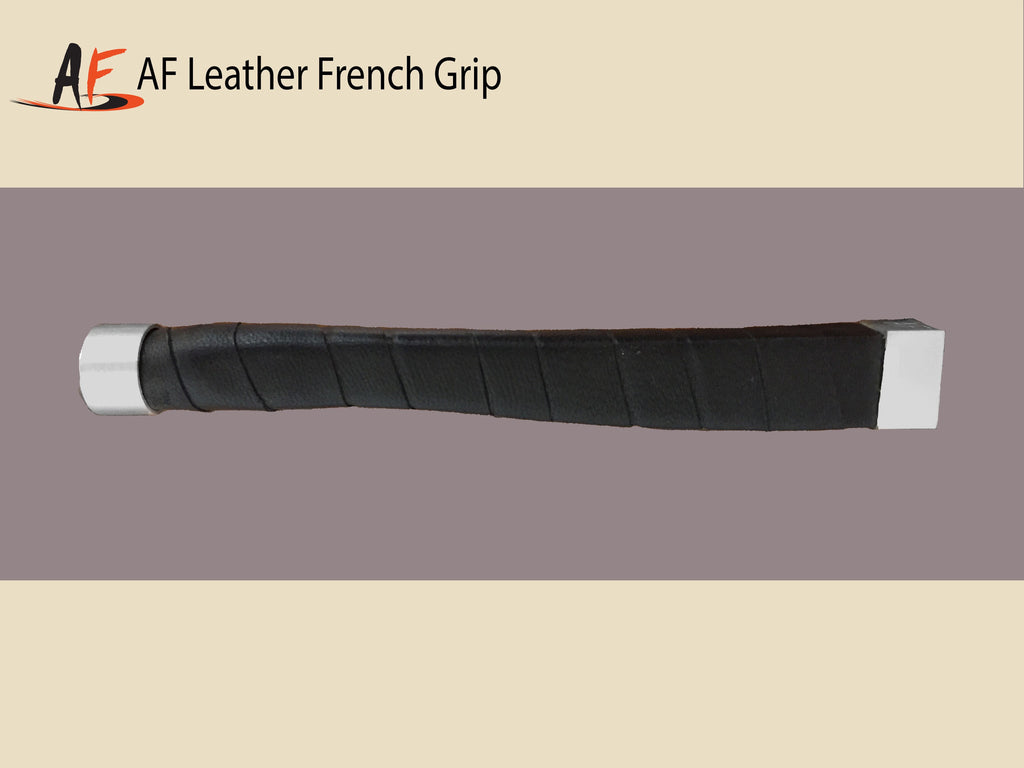 AFG French grip, leather wrap
